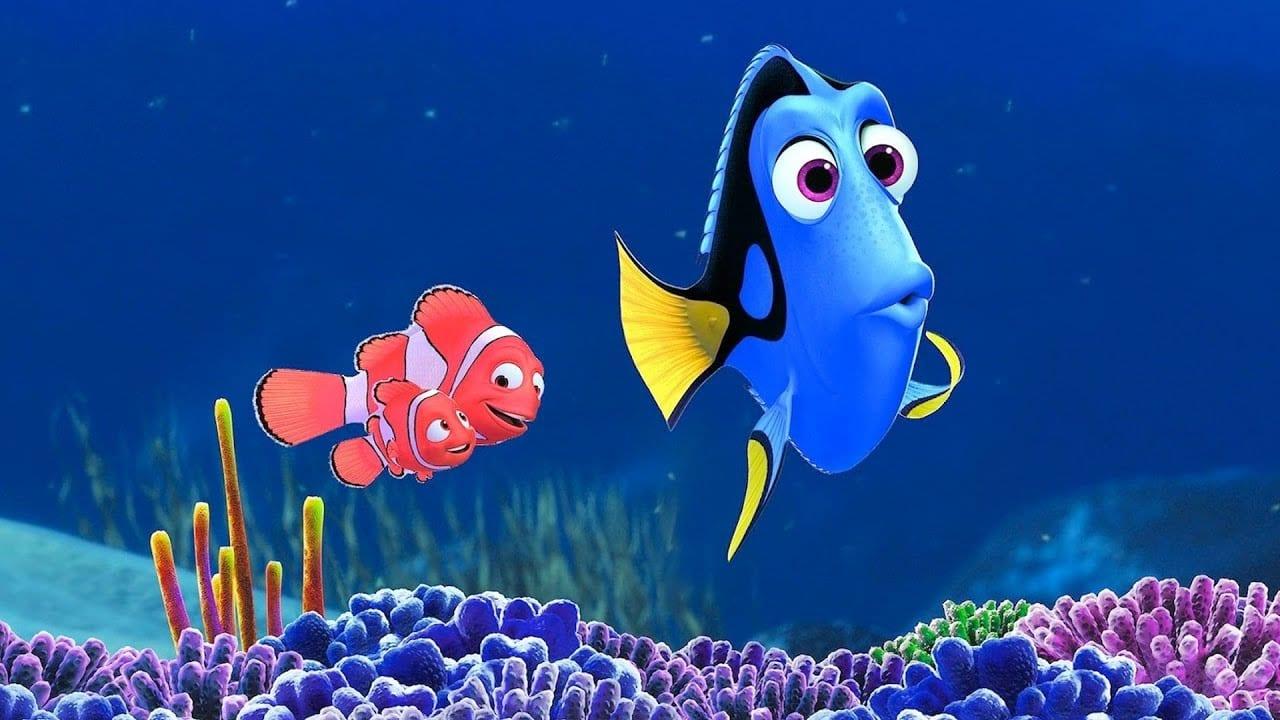 A dublagem de Nemo e Doli também marcou gerações. Crédito: Disney.