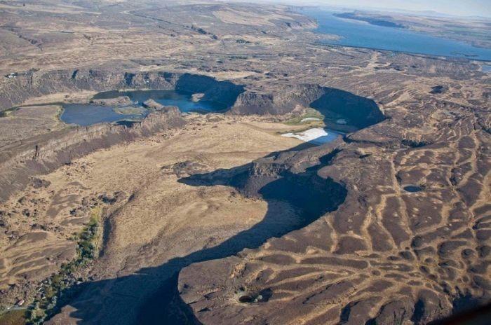 Maiores cataratas que já existiram hoje estão completamente secas