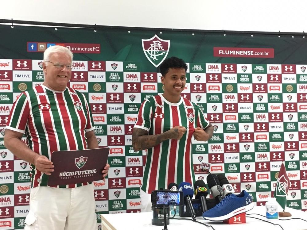 Allan assina contrato com o Fluminense