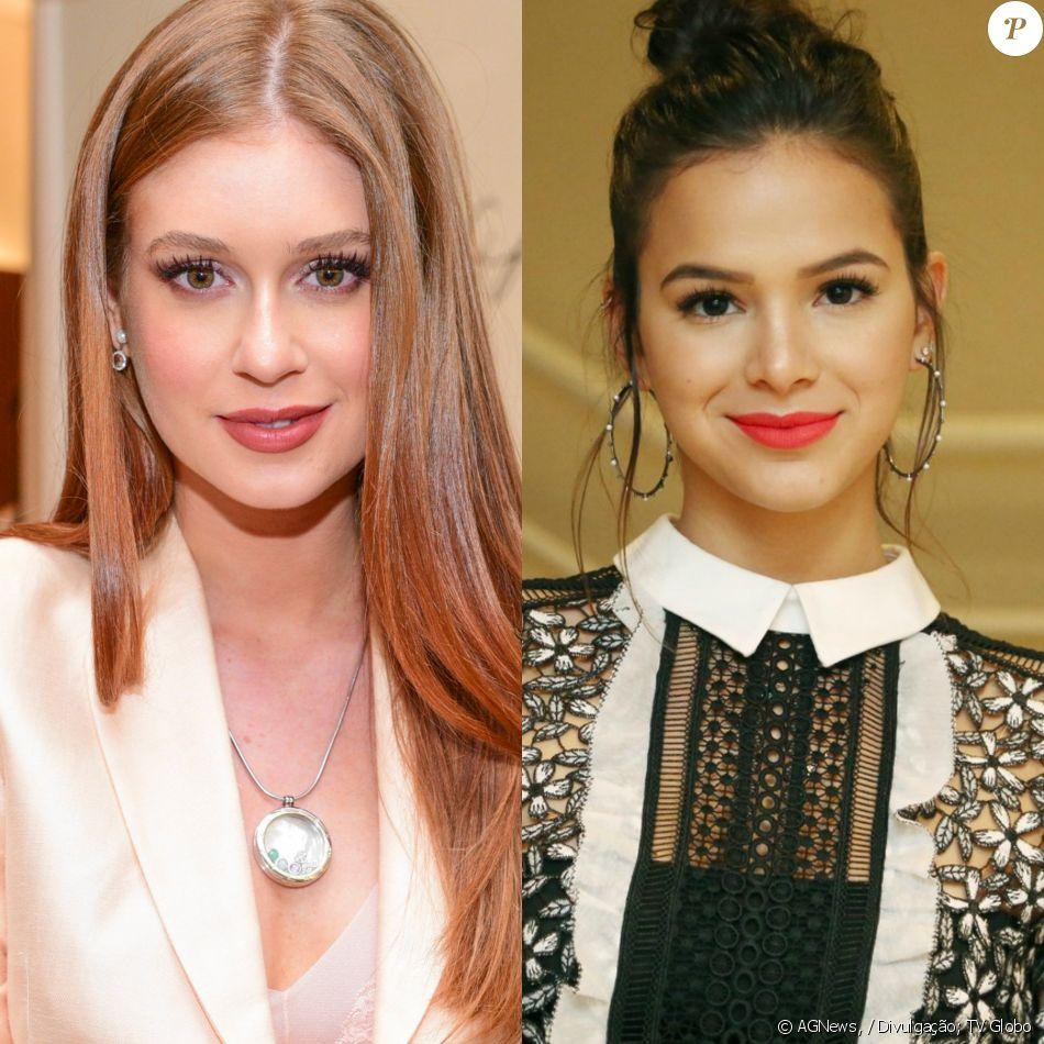 Bruna Marquezine e outras atrizes deixam de seguir Marina Ruy Barbosa