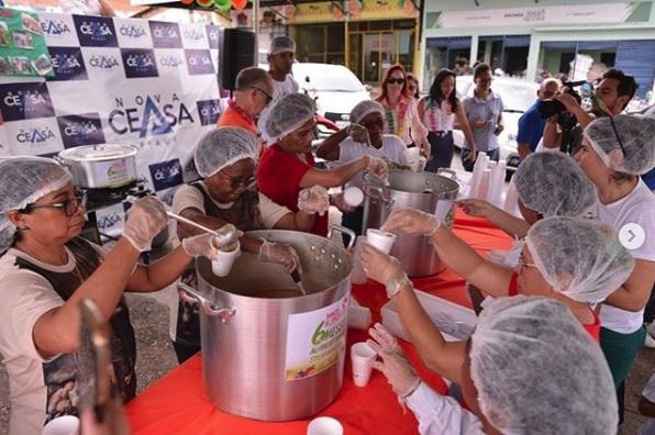 Banco de Alimentos da Nova Ceasa beneficia 5000 pessoas diariamente - Imagem 1
