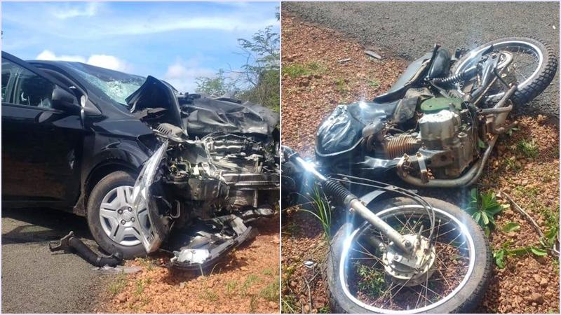 Motociclista morre após ser arremessado em colisão na PI-216  - Imagem 1