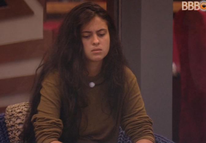 """BBB 19: """"Podem falar que eu tô de cara feia, estou mesmo"""", diz Hana"""