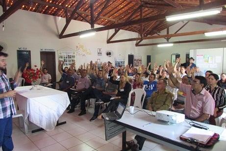 População participa de conferência sobre saneamento básico