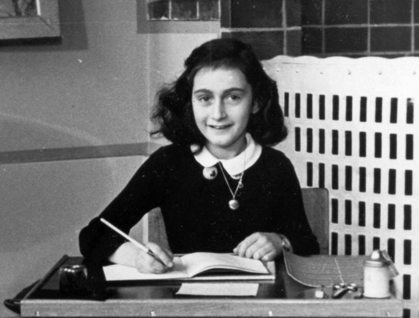 Anne Frank mártir do holocausto