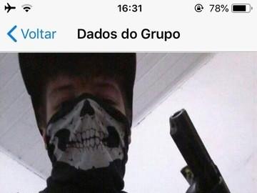 Vaza No Twitter Grupo No Whatsapp Idolatrando Atirador De Escola
