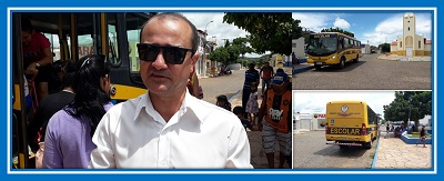 Secretário de Educação fala sobre ônibus escolar em Dom Expedito Lopes
