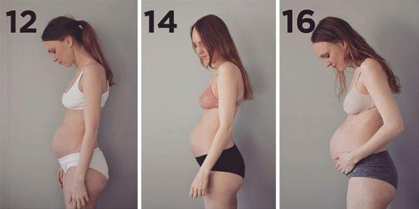 Veja o que acontece com o corpo de uma mulher grávida de trigêmeos - Imagem 1