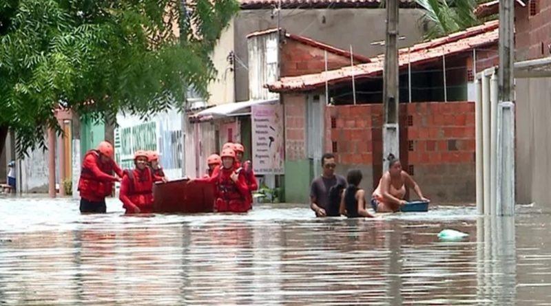 Em 4 dias, choveu em Parnaíba o esperado para dois meses - Imagem 3