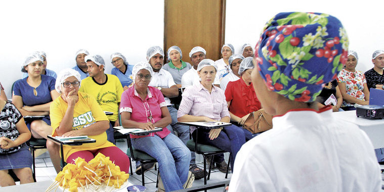Nova Ceasa recebe 1ª Oficina Gastronômica
