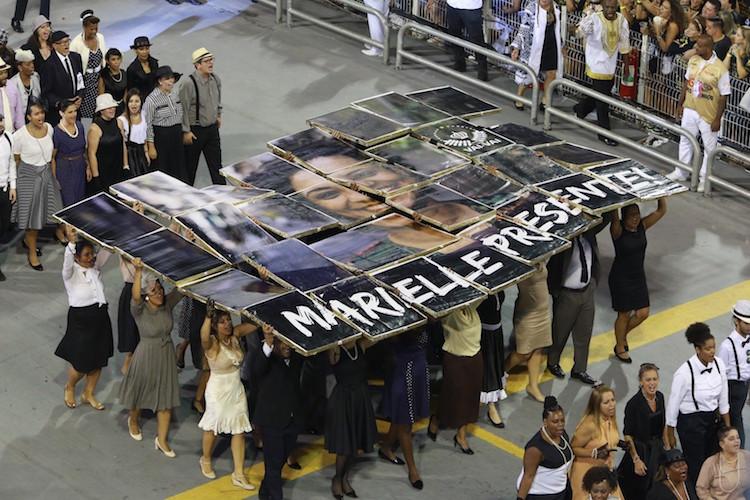 Vai-Vai homenageia Mariele Franco em enredo sobre lutas do povo negro