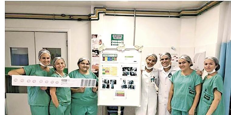 Hospital Unimed Primavera treina colaboradores