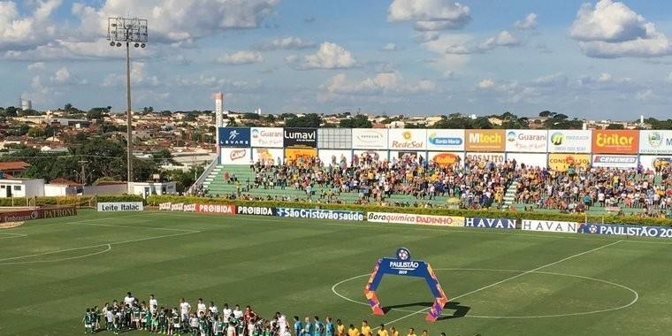 Palmeiras sai na frente, mas cede empate ao Mirassol pelo Paulistão