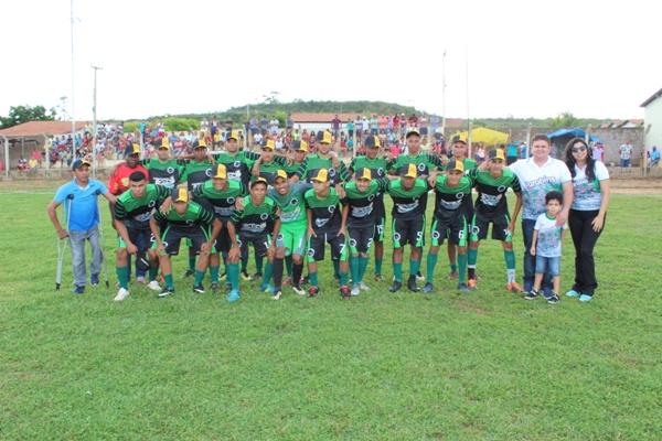 100% Piauí é campeão 2019 do campeonato municipal de futebol