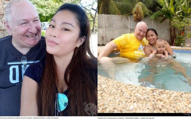 """Jovem de 23 anos vive casamento a distância com idoso de 71: """"Felizes"""""""