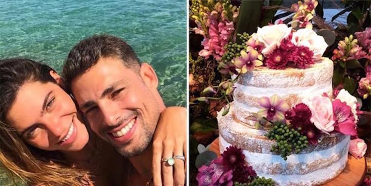 Veja decoração do casamento de Cauã Reymond e Mariana Goldfarb