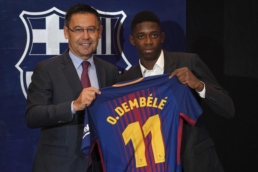 Presidente do Barça diz que Démbélé é melhor que Neymar; Coutinho fica - Imagem 1