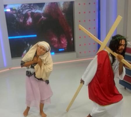 Tema da Novelinha: Paixão de Cristo