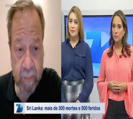Embaixador do Brasil no Sri Lanka fala sobre atentado que deixou mais de 300 mortos