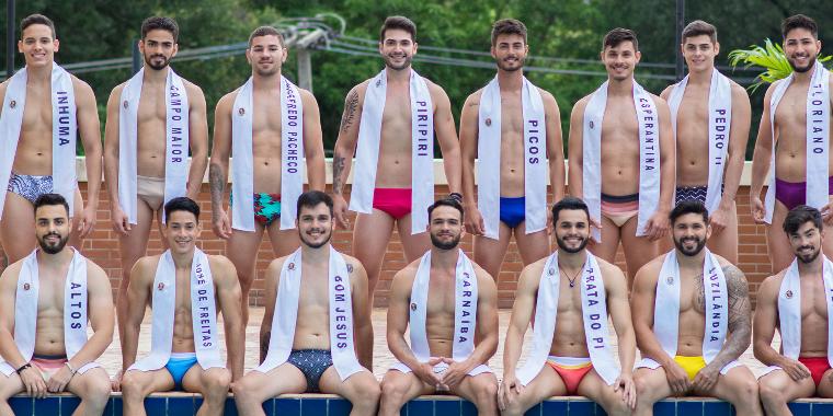 Hoje! 15 candidatos disputam o título de Mister Piauí Universo 2019