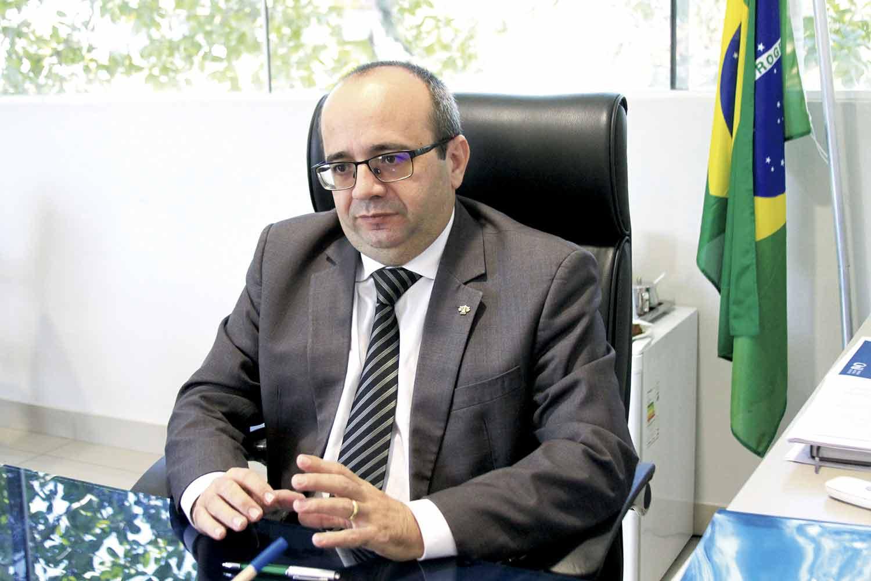 Defensor público geral, Erisvaldo Marques   Crédito: Raíssa Morais