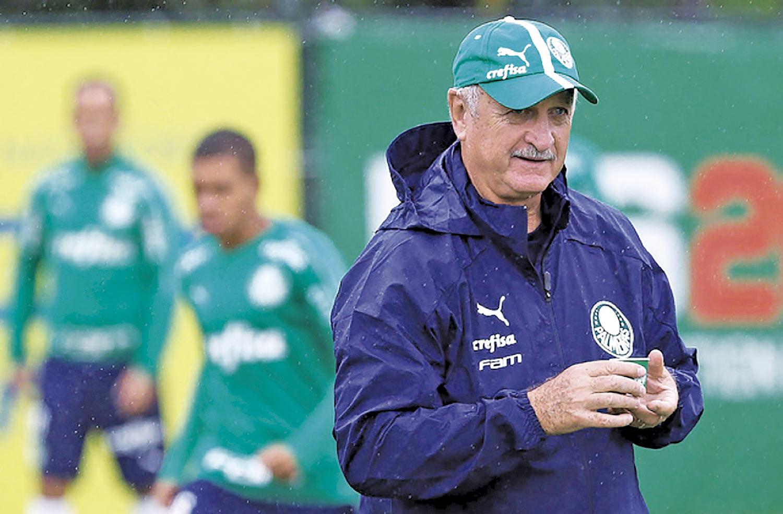 Felipão terá novidades no Palmeiras contra o São Paulo - Imagem 1