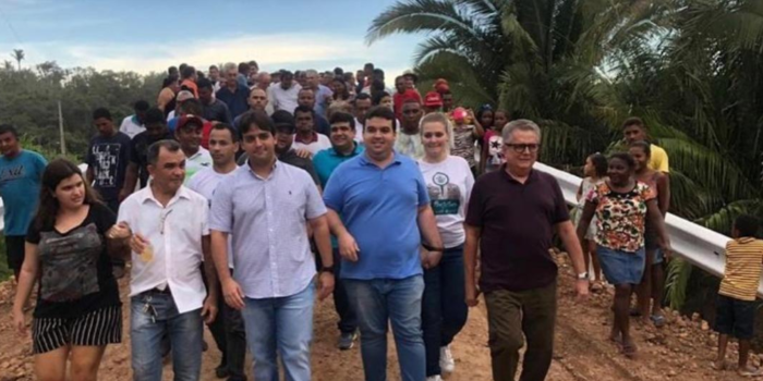 "Reginaldo Júnior inaugura ""Ponte do Espírito Santo"""