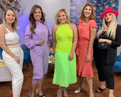 Todas com looks monocromáticos! Universo Mulher dá dicas de como se vestir com apenas uma cor no programa do dia 11.05.19