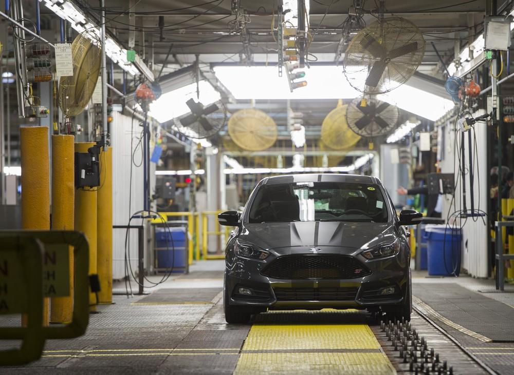Fábrica da Ford em Flat Rock, nos EUA — Foto: Saul Loeb/AFP
