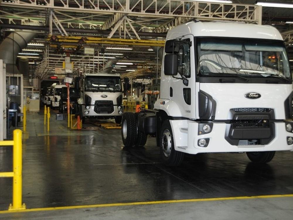 Fábrica da Ford em São Bernardo — Foto: Divulgação