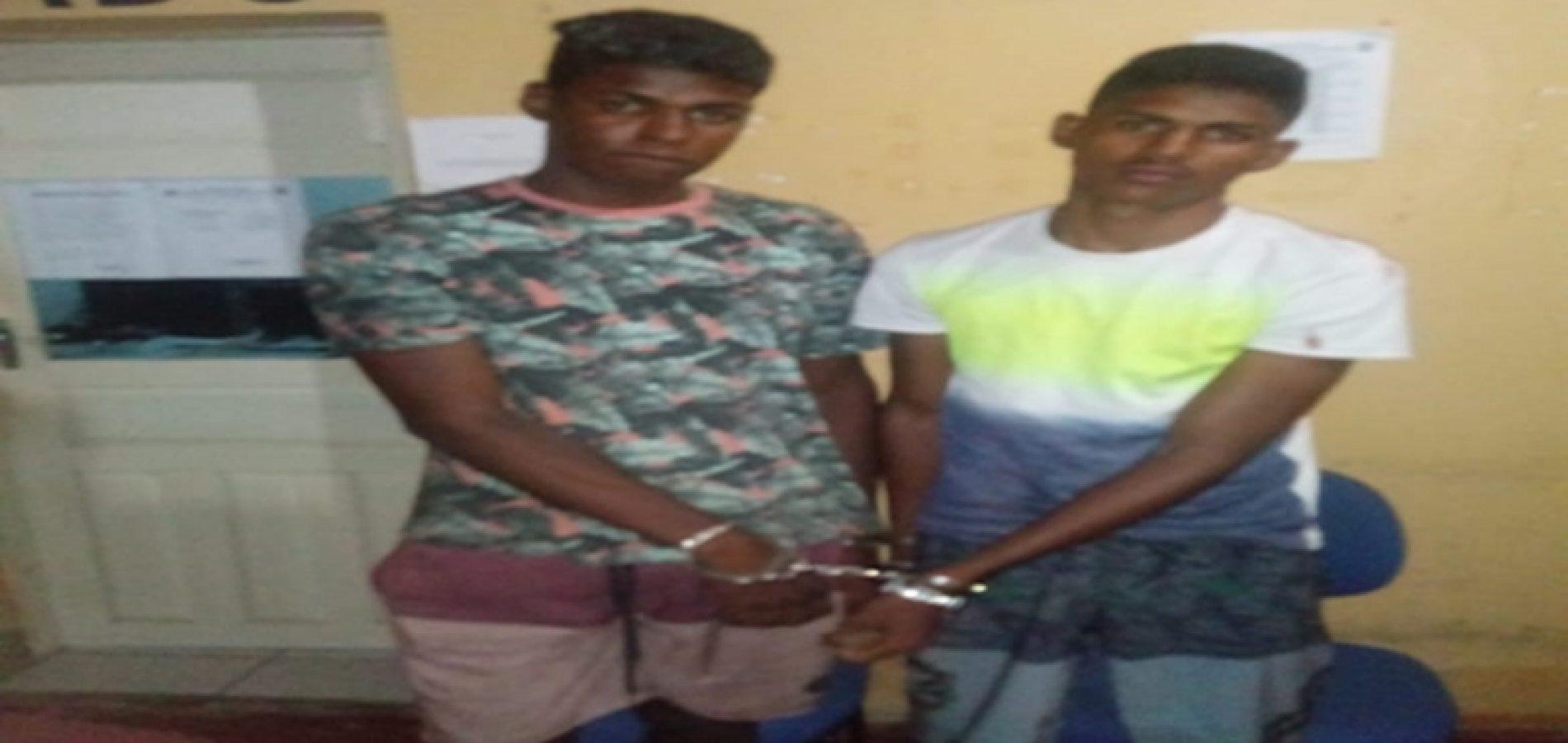 Irmãos são presos acusados de esfaquear três pessoas em bar no Piauí - Imagem 1