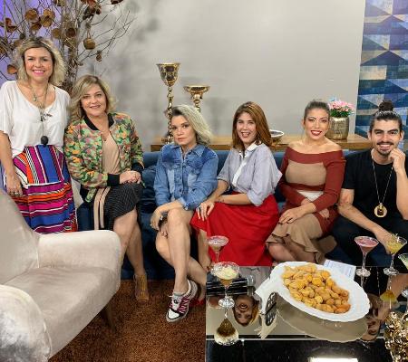 Time da moda do Universo Mulher comentam Dragão Fashion, em Fortaleza, no programa do dia 25.05.19