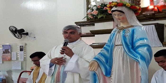 Bispo Dom Plínio visita Dom Expedito Lopes em Missão Pastoral