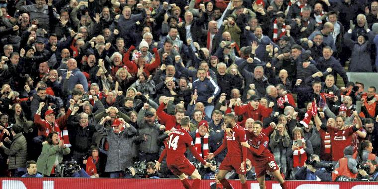 Liverpool goleia o Barcelona