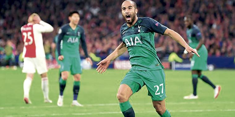 Tottenham vai à final da Champions