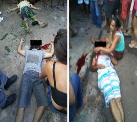 Briga entre ciganos termina em 4 homens mortos e uma criança baleada em Coelho Neto