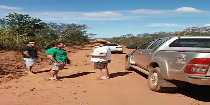 Prefeitura Realiza obras de recuperação em estradas vicinais no município
