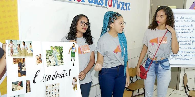 Princesas empoderadas: projeto ensina direitos das mulheres