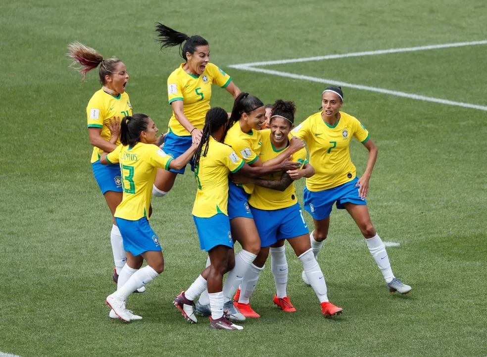 Brasil x Jamaica Copa do Mundo — Foto: Reuters