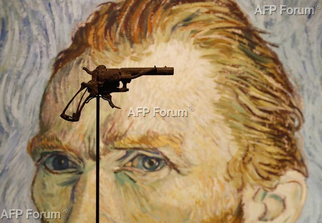 Revólver de suposto suicídio de Van Gogh será leiloado em Paris  - Imagem 1