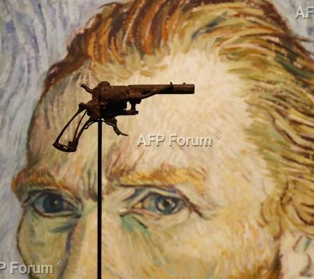 Revólver de suposto suicídio de Van Gogh será leiloado em Paris