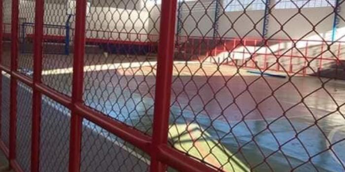 Após  ampla reforma, ginásio será entregue dia 25 de junho