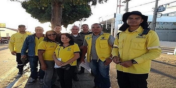 STRANS realiza campanha em parceria com Escola do DETRAN e Polícia Militar