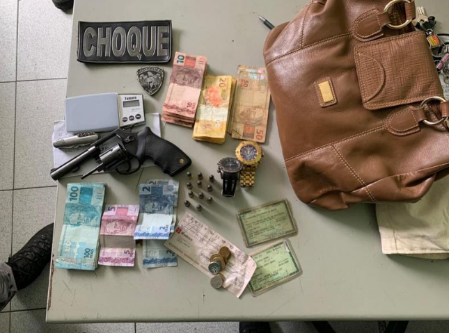Dupla é presa após roubar R$ 4 mil em 'saidinha de banco' em Teresina  - Imagem 1