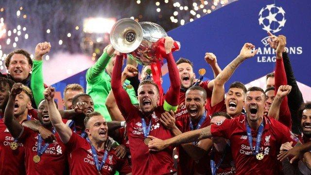 Liverpool campeão da Liga dos Campeões da UEFA 2018/2019 Foto: Reprodução/Twitter
