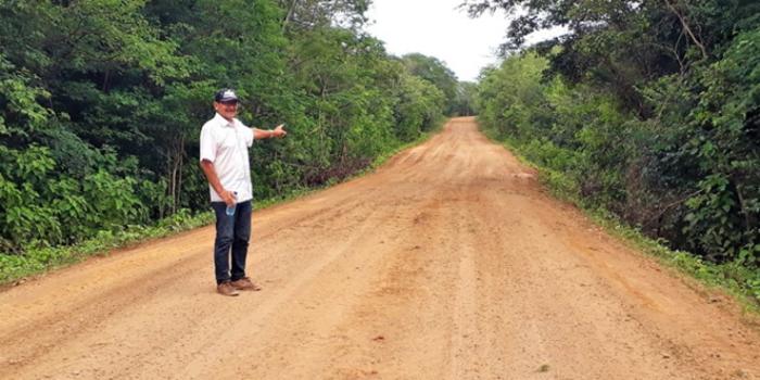 Prefeitura de Joaquim Pires inicia os trabalhos de revitalização das estradas vicinais