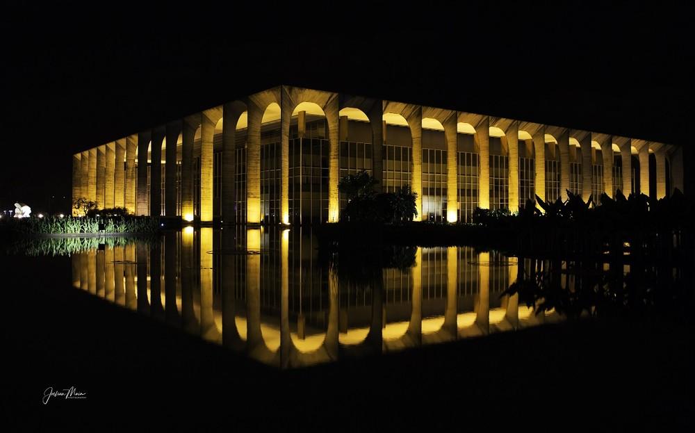 Palácio Itamaraty, em Brasília — Foto: Joelson Maia/TV Globo