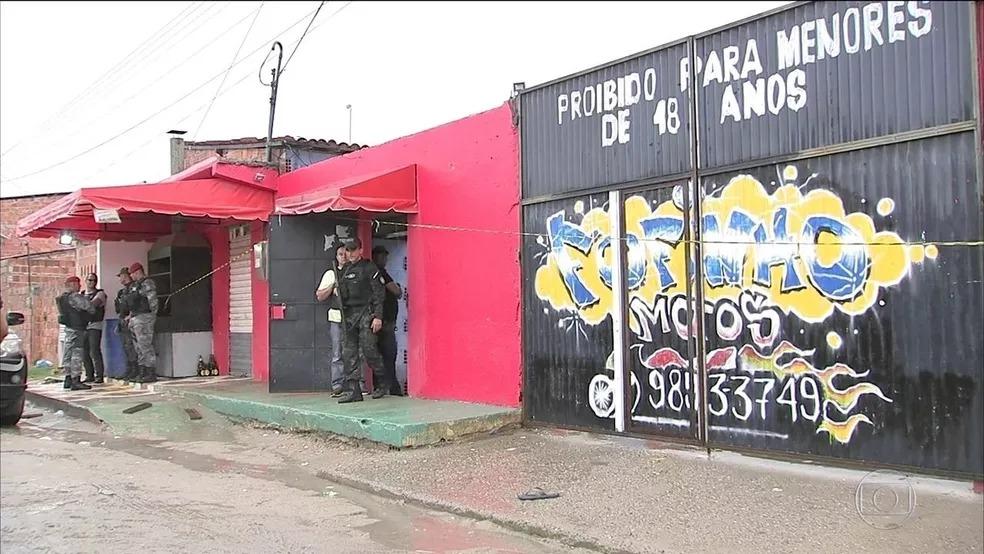 """""""Sociedade do Anel"""" é responsável pela matança no clube Forró do Gago, a maior chacina já ocorrida no Ceará — Foto: SVM"""