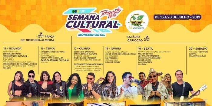 Inicia amanhã o maior encontro da cultura do Médio Parnaíba, do Piauí