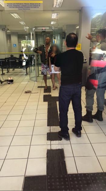 Mulher é feita refém dentro do Banco do Brasil de Bom Jesus - Imagem 1